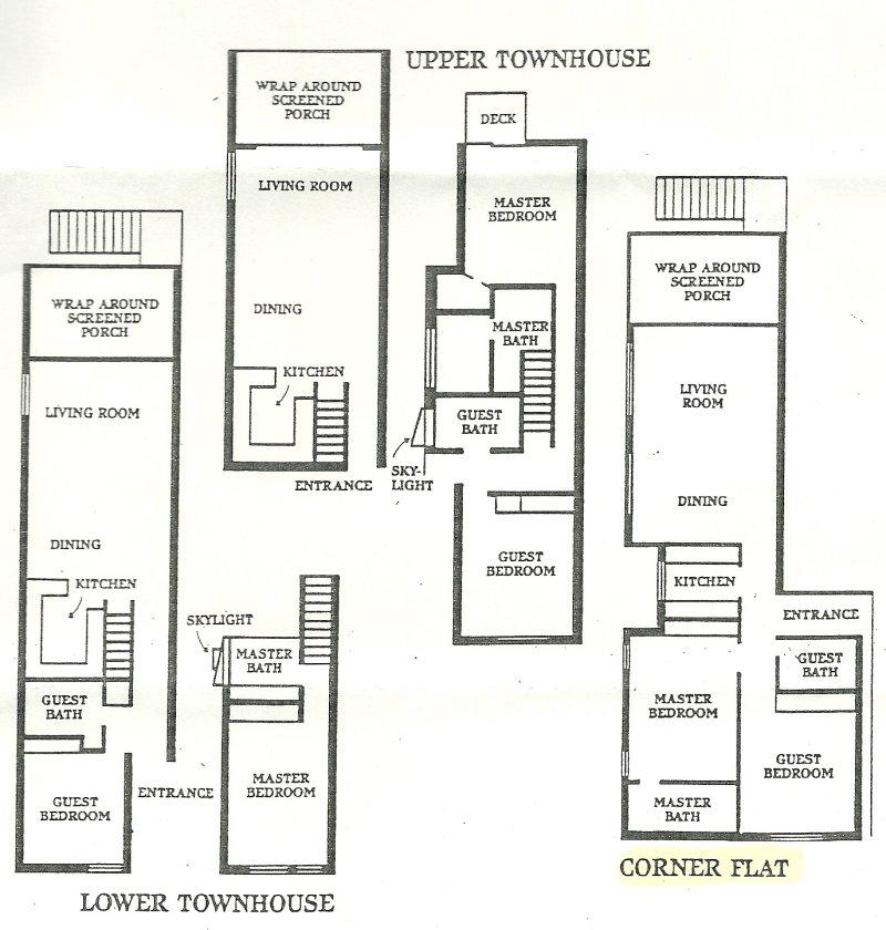 Casa Ybel - Floor Plans